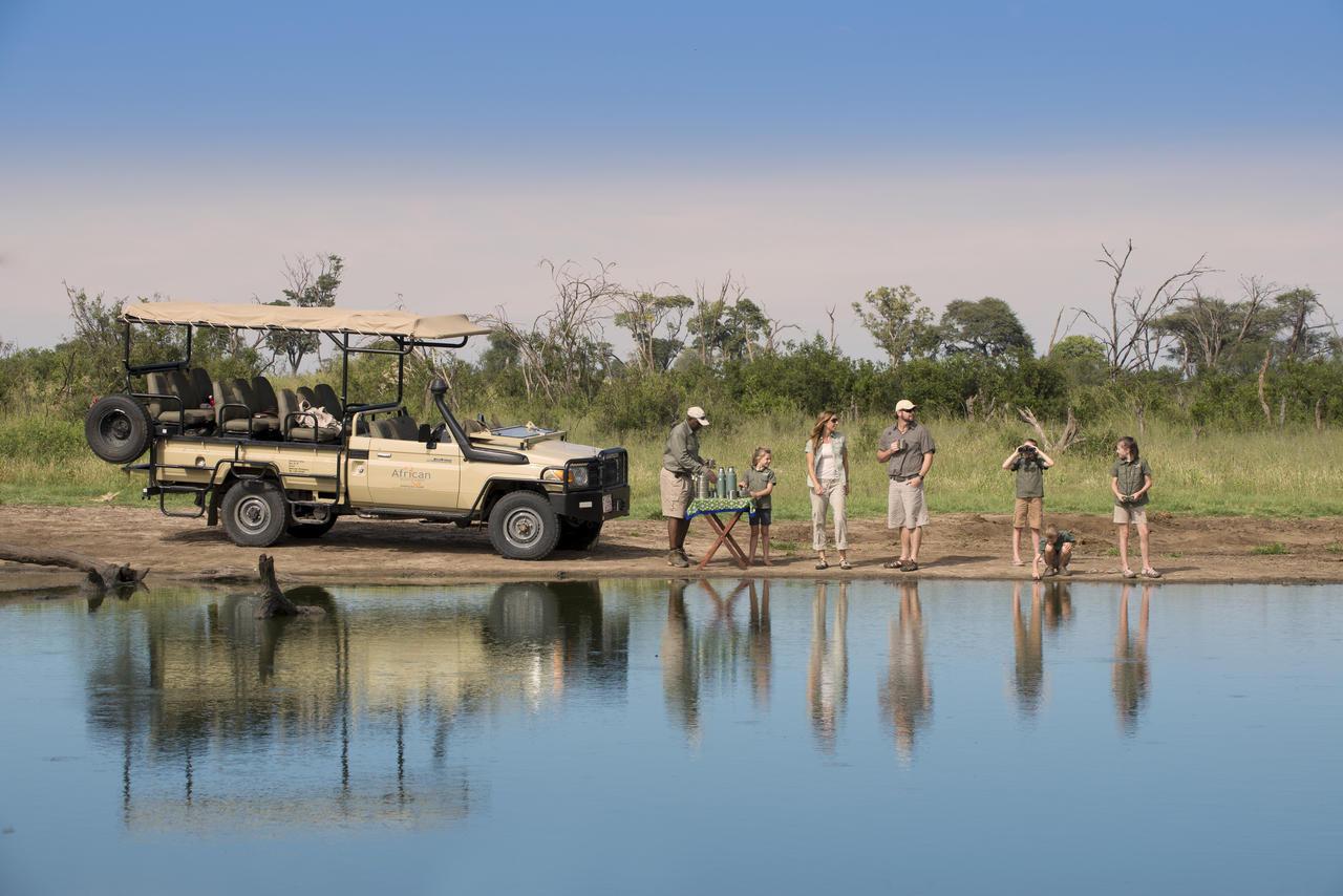 Family safari, Zimbabwe2