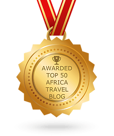Awarded top 50 Africa travel blog