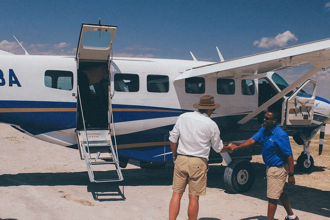 privately guided safari Botswana