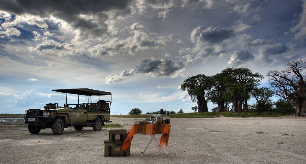 Made in Africa Tours & Safaris - Best of Botswana Lodge Safari - Nxai Pan Baines Baobabs