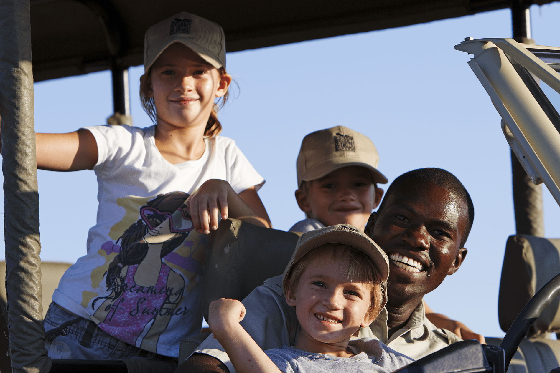 Botswana child friendly family safari tour
