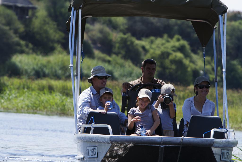Made in Africa Tours & Safaris - Botswana Family Lodge Safari - Chobe River Boat Cruise