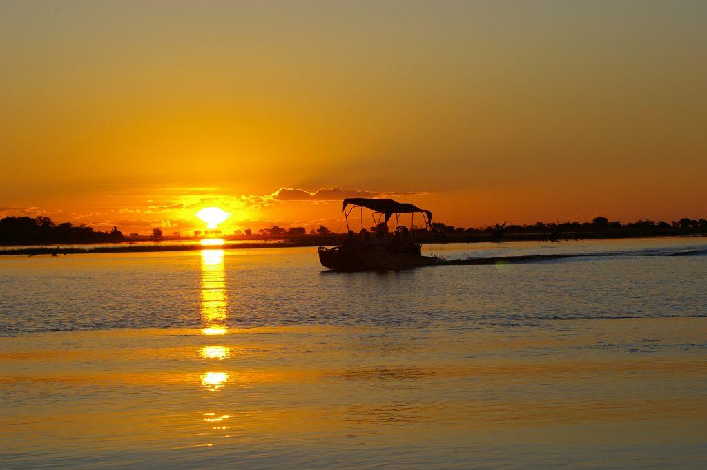 Made in Africa Tours & Safaris - Botswana Family Lodge Safari - Chobe Savanna Lodge Sunset