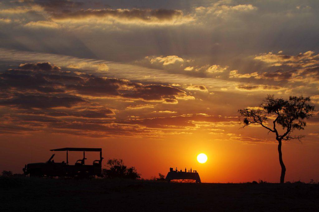 Made in Africa Tours & Safaris - Botswana Family Lodge Safari - Savuti Sunset
