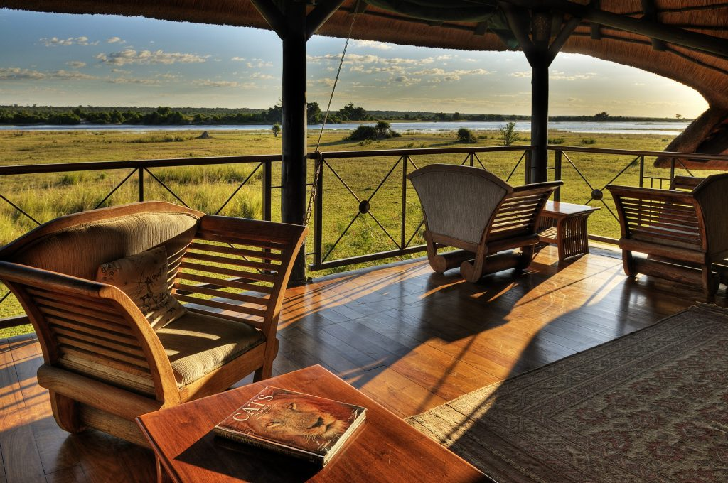 Made in Africa Tours & Safaris - Chobe Savanna Lodge viewing deck