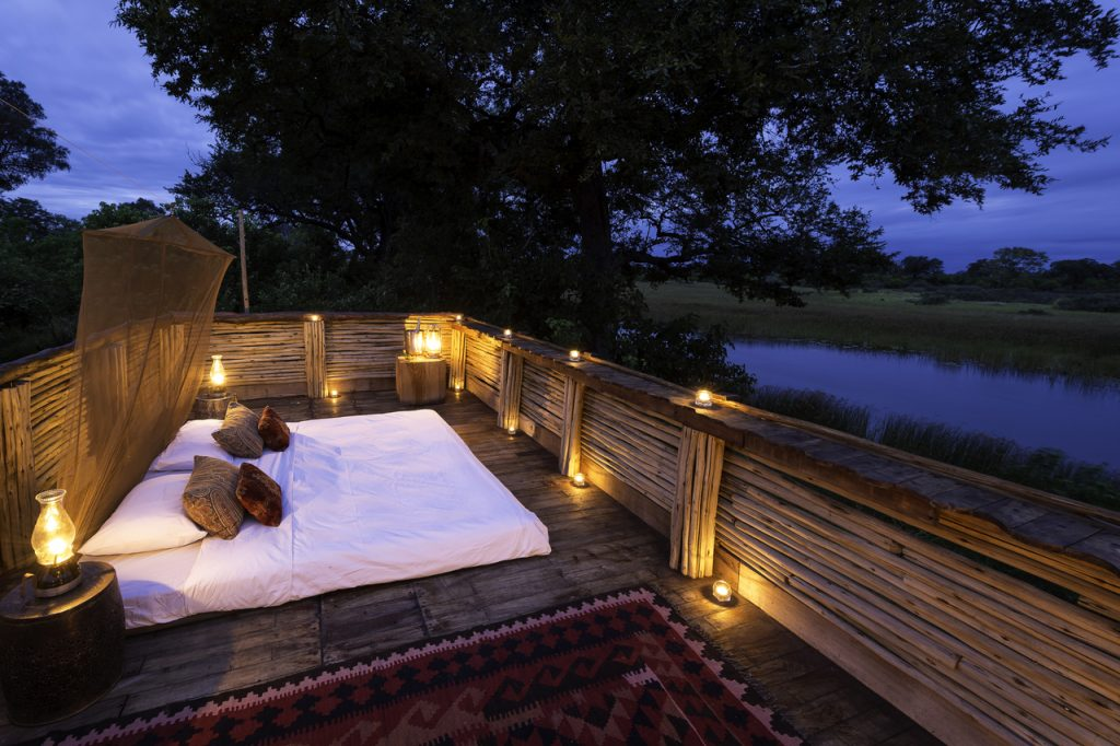 Made in Africa Tours & Safaris - Savuti Star Bed