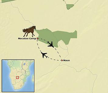Horseback safari, Okavango Delta, Botswana