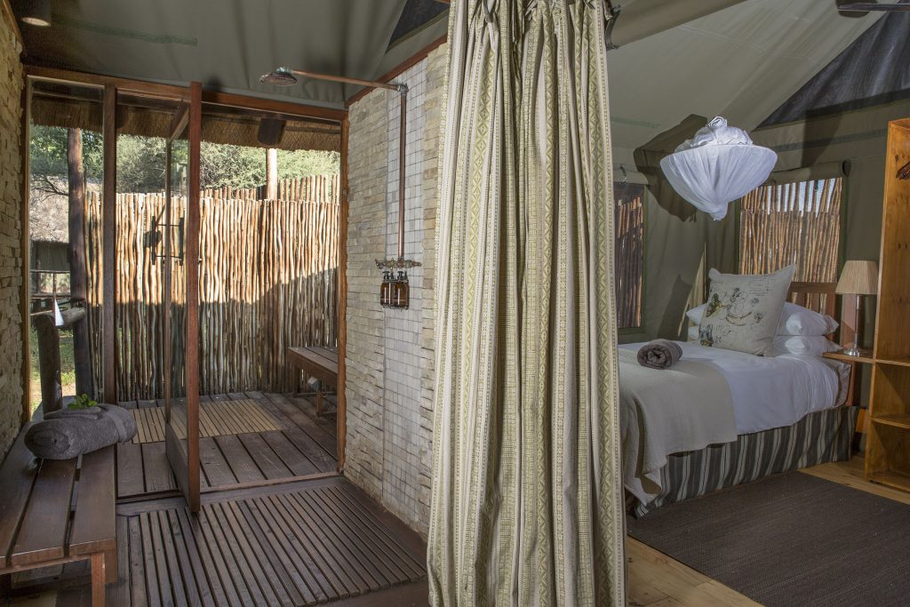 Pafuri Camp bedroom