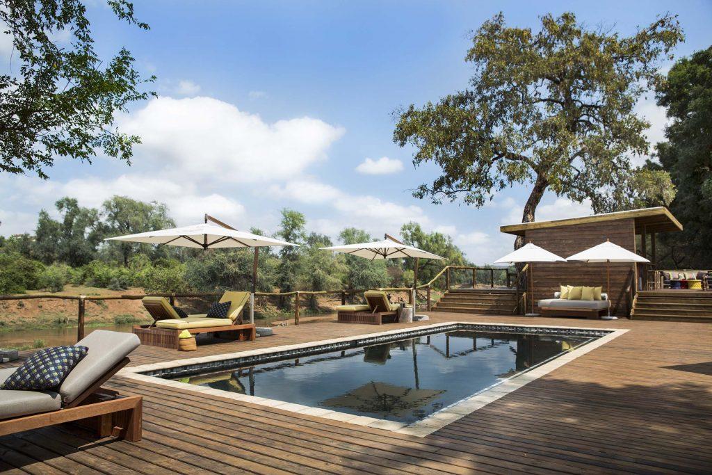 Pafuri Camp Swimming pool