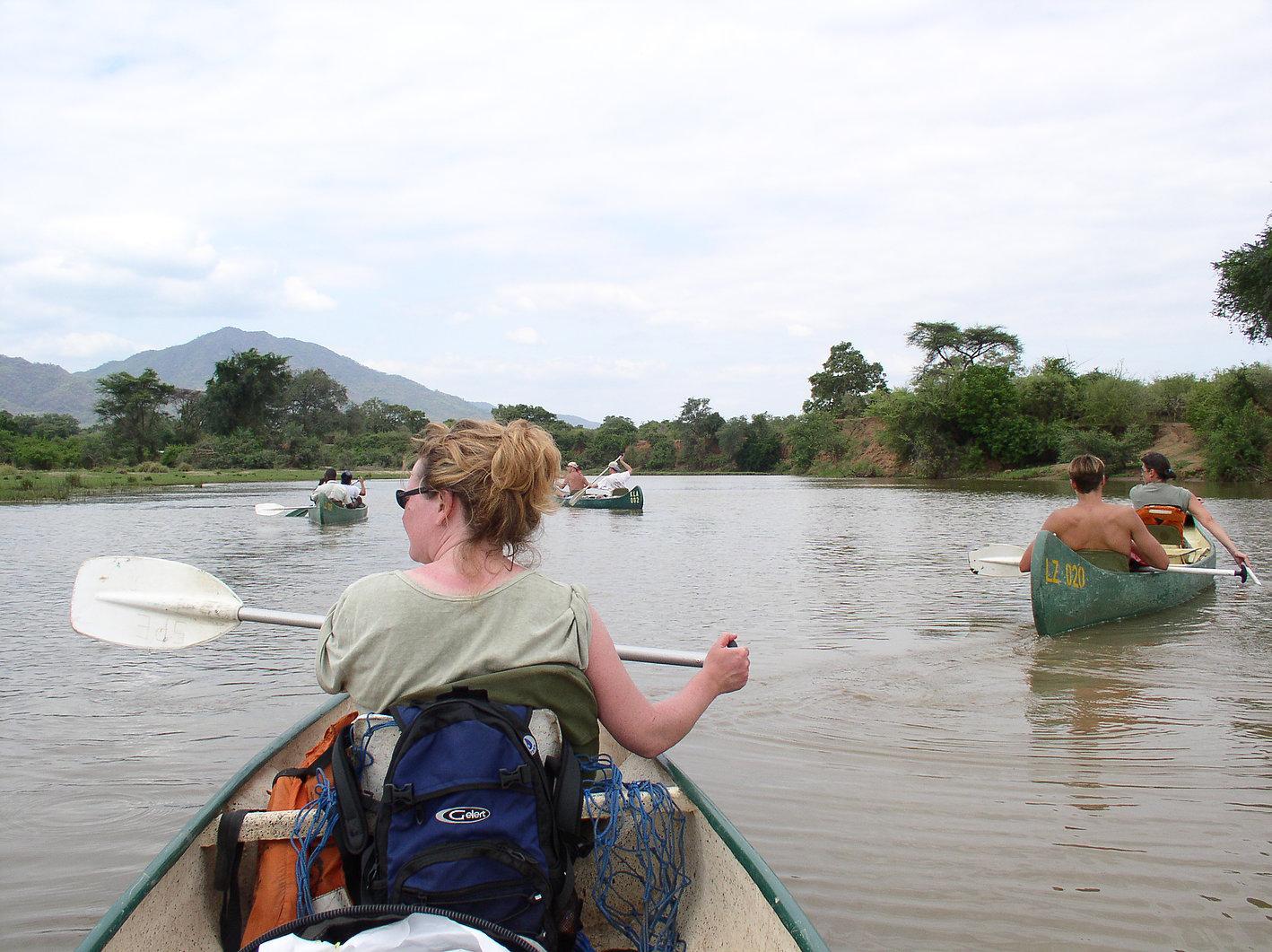 bucket-list African adventures, zambezi rafting