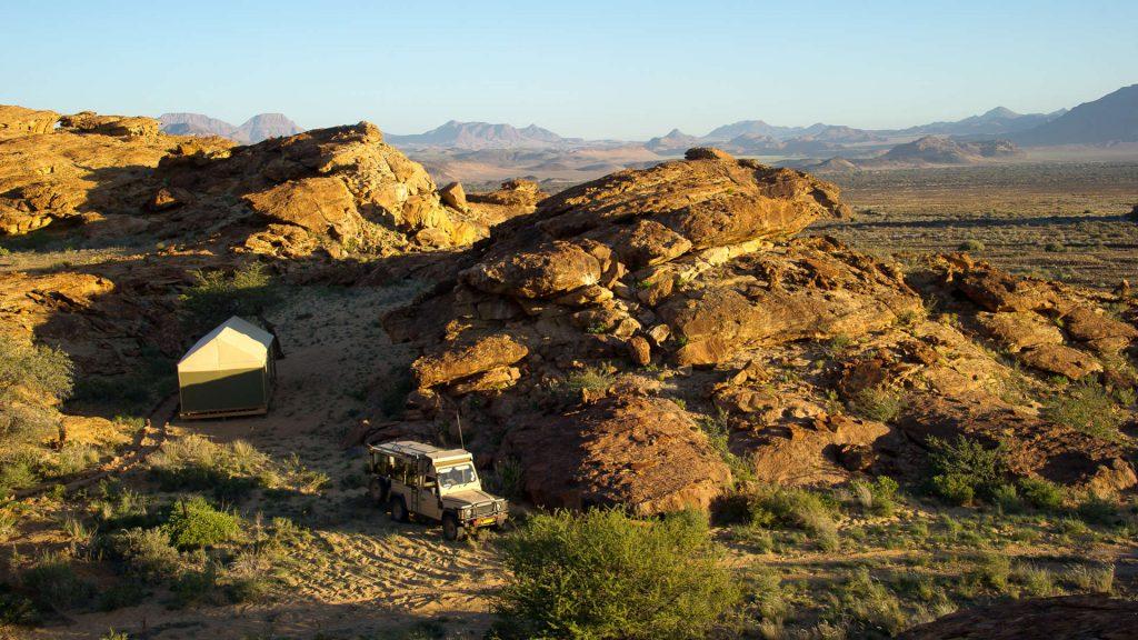 Damaraland Adventure Camp Landscape - Namibia Exploration