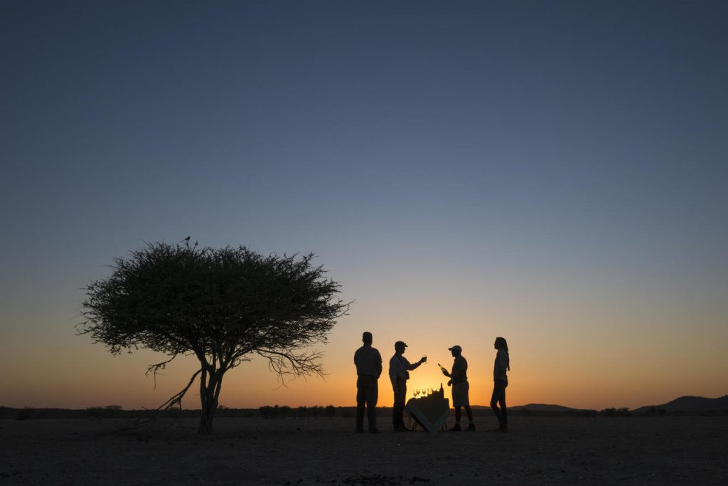 Etosha Sundowner Drinks - Namibia Exploration