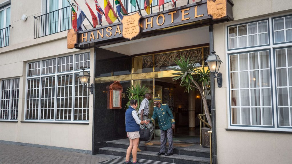 Hansa Hotel Swakopmund - Namibia Exploration