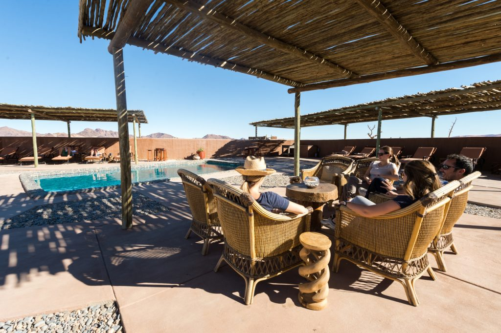 Kulala Swimming Pool - Namibia Desert Safari