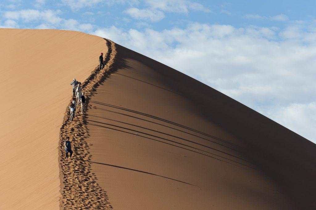 Namib Desert Sand Dune - Namibia Desert Safari