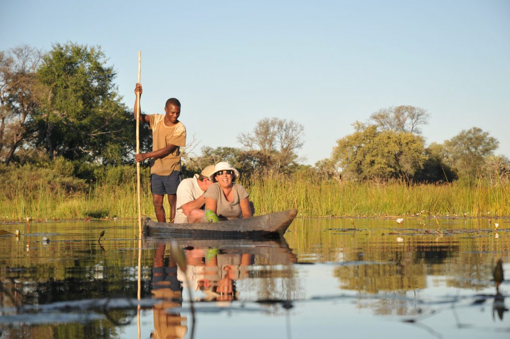 Okavango Delta Mokoro Excursion - Cape to Vic Falls Adventure Safari