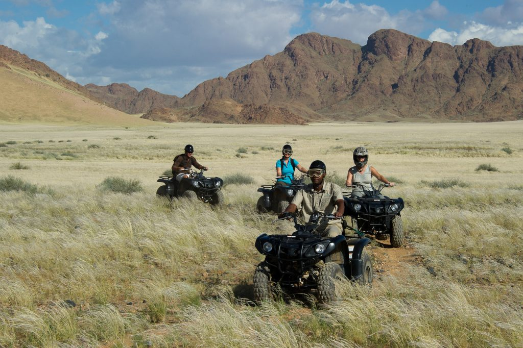 Sossulvlei quad bike excursions - Namibia Desert Safari
