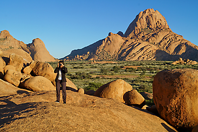 Spitzkoppe - Cape to Vic Falls Adventure Safari