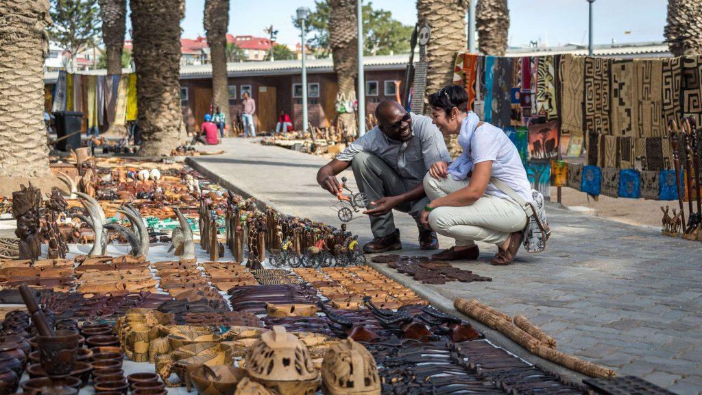 Swakopmund Market - Namibia Exploration