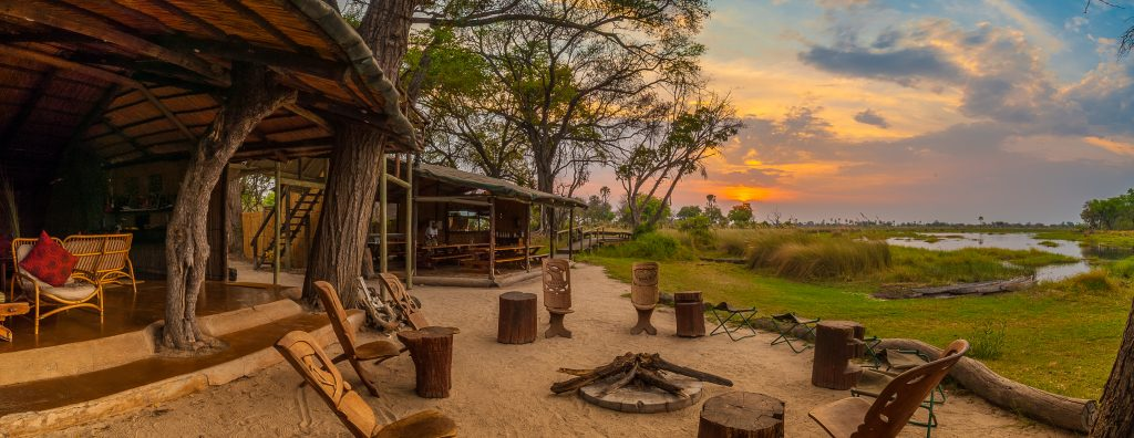 Oddballs' camp, Okavango Delta