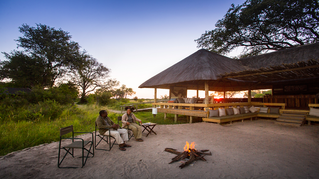 Botswana-Private-Reserve-Lodge-Safari---Jackal-&-Hide-fire-pit - Copy