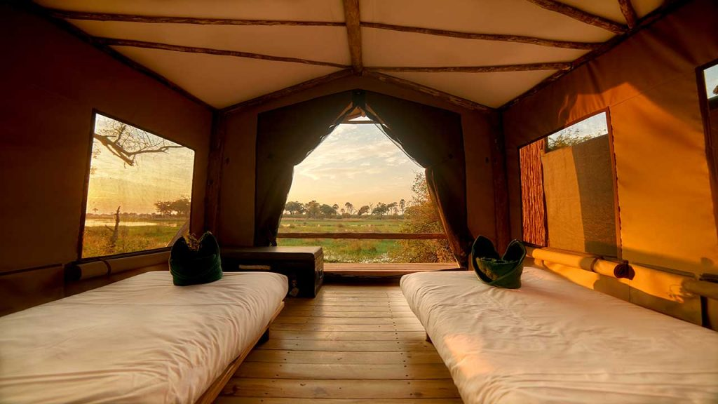 Botswana-Private-Reserve-Lodge-Safari---Oddballs-Tent-Interior - Copy