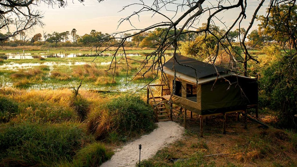 Botswana-Private-Reserve-Lodge-Safari---Oddballs-Tent-with-a-view - Copy