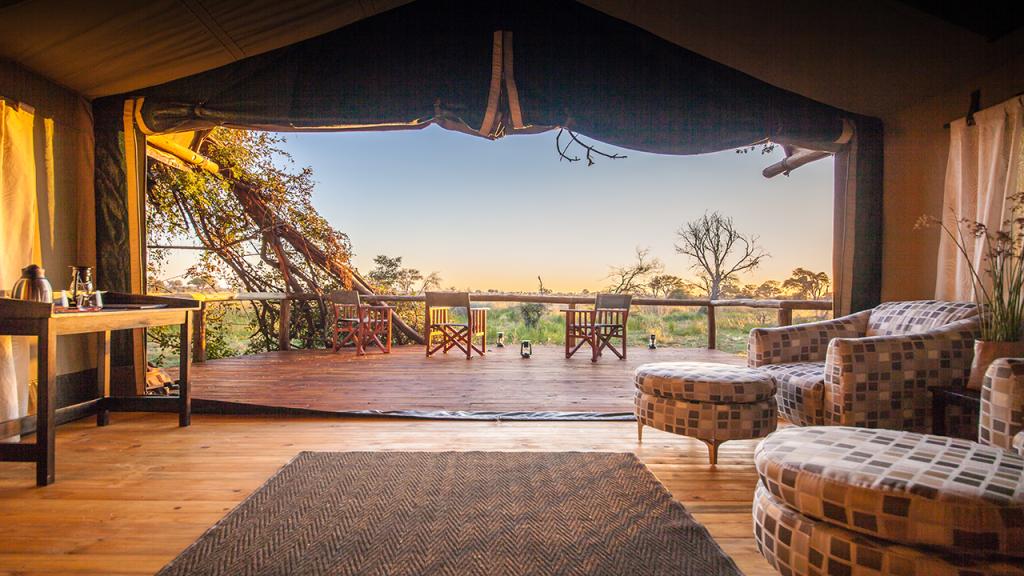 Botswana-Roundabout---Rra-Dianre-safari-tent-view
