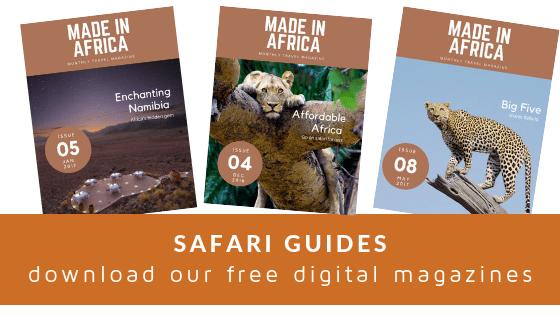 digital safari travel guides