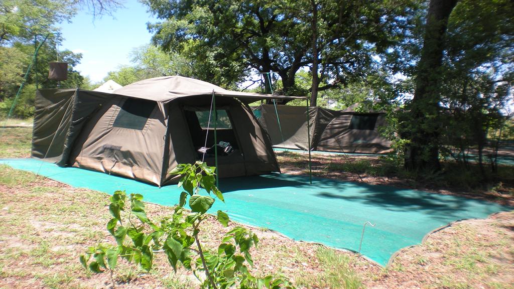 Botswana-Family-Adventure-Safari---Mobile-Safari-Tent-Exterior