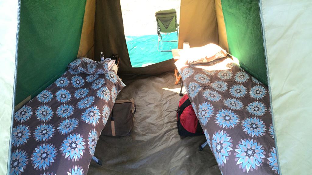 Botswana-Family-Adventure-Safari---Mobile-Safari-Tent-Interior