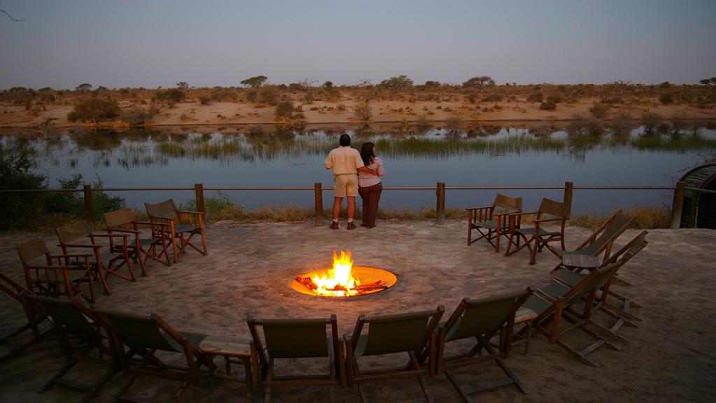 Botswana-Honeymoon-Safari---Lerooa-La-Tau-view-from-Firepit