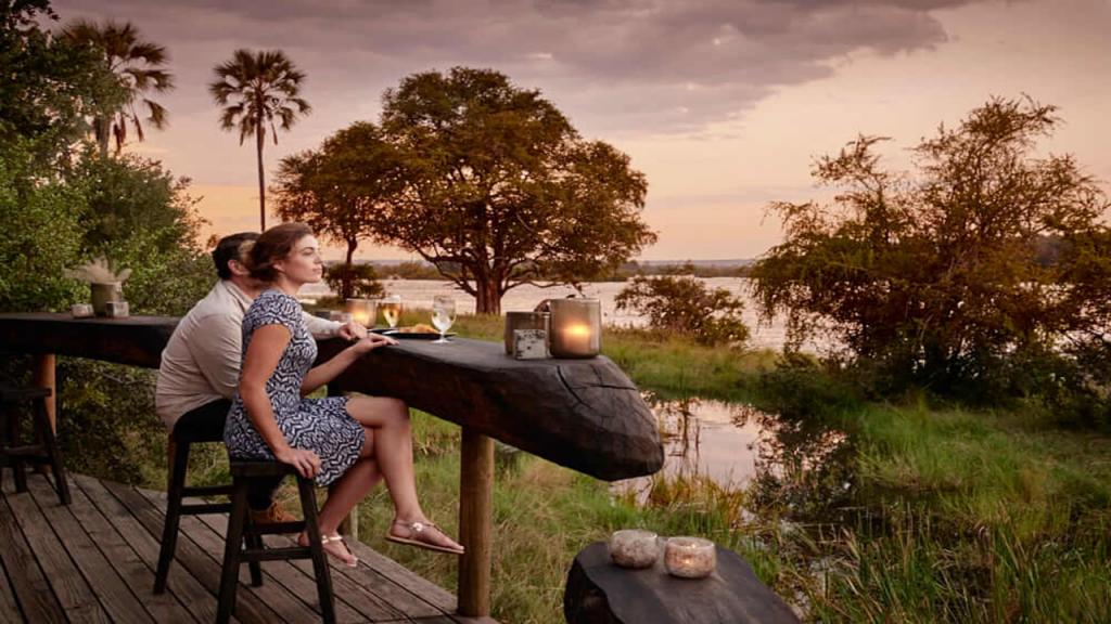 Botswana-Honeymoon-Safari---Zambezi-River-Lodge-sundowner-deck