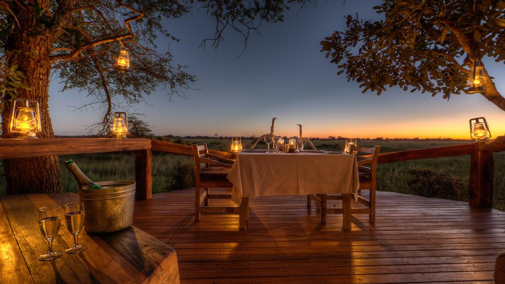 Botswana-Honeymoon-Safari---private-honeymoon-dinner