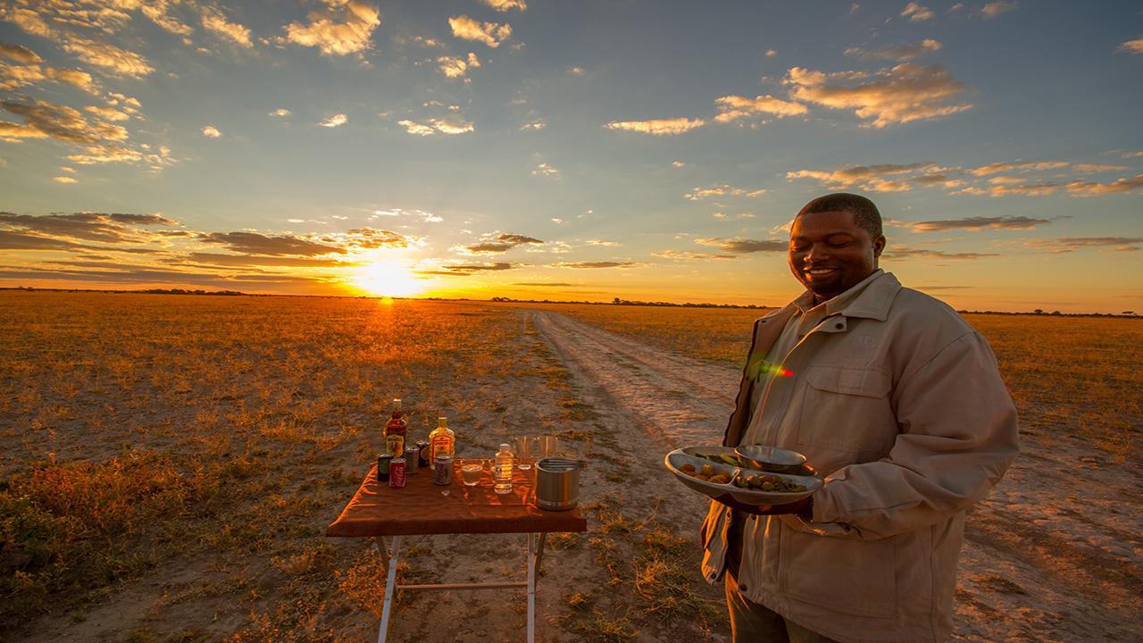 Nxai-Pan-Sundowners---Made-in-Africa-privately-hosted-Botswana-Safari